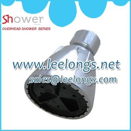Leelongs overhead plastic fixed shower