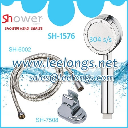 SH-1576 Korean shiny chrome shower